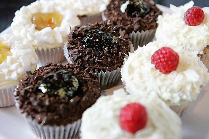 Gourmet Cupcakes, for Wedding Cake Puddings