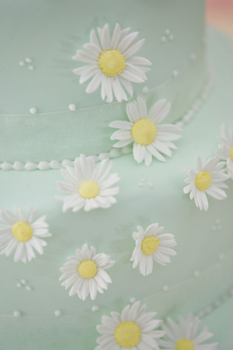 Daisy Daisy Wedding Cake